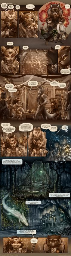 Just the canonical Lackadaisy comic pages in order, for easier reading