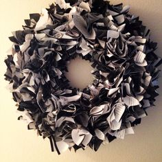 Made my own book wreath! It turned our so great.