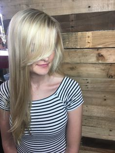 Blonde highlights by Callie at Gramercy Salon in Mizner Park in Boca Raton, Fl #bocastylist #gramercysalon #aveda #callies_sunlit_hair #mizner #highlights #blonde