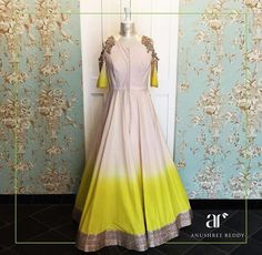Anushree reddy # shaded anarkali # Indian wear #