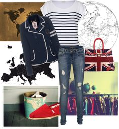 """""""Around the World"""" by queen-4-giants ❤ liked on Polyvore"""