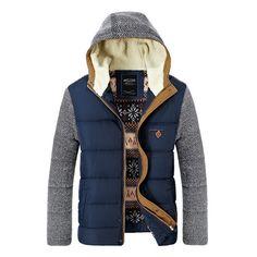 Marca coreana Man moda quente Parkas tamanho M 2XL Patchwork de algodão acolchoado projeto estilo homens Young inverno jaquetas em Casacos de Plumas e Parcas de Roupas & acessórios no AliExpress.com | Alibaba Group