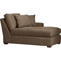 Axis Right Arm Sectional Chaise in Daybeds, Chaises   Crate and Barrel