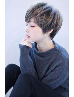 マリア(Maria by afloat) 【畑中正敏】厚めバング×マーメイドアッシュショートボブ