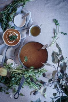 Carrot, White Miso and Coriander Soup | Yes! Delish!
