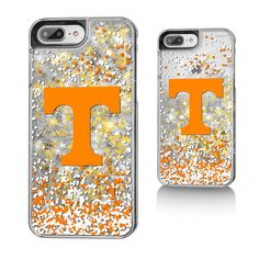 Tennessee Volunteers Gold Glitter iPhone 7 Plus Phone Case