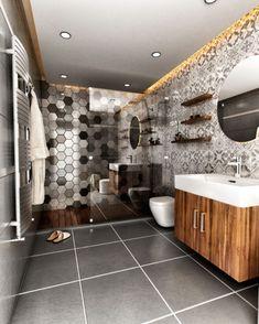3D Modelleme ve Mimari Görselleştirme Bathroom, Washroom, Bathrooms, Bath, Bathing, Bath Tub