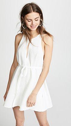 Looking for Le Kasha Rosetta Tie Waist Dress ? Check out our picks for the Le Kasha Rosetta Tie Waist Dress from the popular stores - all in one. Dress Cuts, Crepe Dress, Spaghetti Strap Dresses, S Models, Dresses Online, Designer Dresses, Spring Fashion, White Dress, White Romper