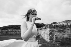 On the blog a 60s inspired alternative wedding at Dunree Fort, Donegal quirky and creative documentary wedding photography from photography by www.babbphoto.com