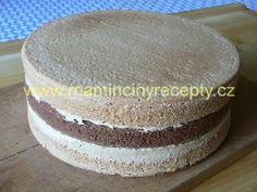 Karamelový dort – Maminčiny recepty Vanilla Cake, Food And Drink