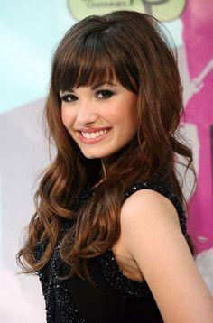 Love her bangs!