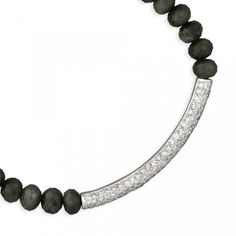 SYDNEY EVAN - love the diamond bar. Perfect for stacking or alone.