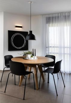 Dining Nook, Round Dining Table, Dining Room Table, Table Plans, Living Room Modern, Designer, Kitchen Decor, House Plans, Bbq