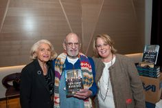On September 29, Edie Windsor (l.) and Larry Kramer celebrated with Roberta Kaplan at the publication party for Kaplan's book, 'Then Comes Marriage: United States V. Windsor and the Defeat of DOMA' (Norton) at New York City's LGBT Community Center. Photo: Ken Goodman Photography