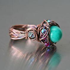 pretty!        http://www.mayahelena.com/pi/full/full_126_r_copper_green_pink_freeform-2.jpg