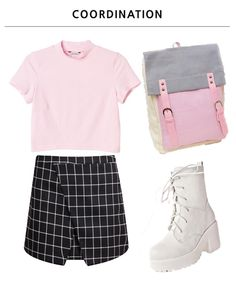 6ium:  Coord: skirt / bag / shoes