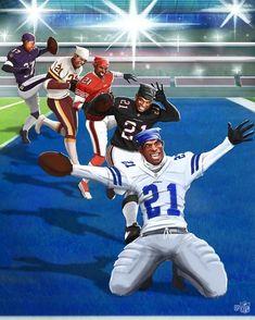 Nfl Football Helmets, Nfl Football Players, American Football Players, Football Art, Dallas Cowboys Football, Funny Football Memes, Nfl Memes, Chicago Bears, Super Bowl