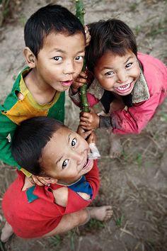 Little Laos Friends by dvlazar on Flickr.