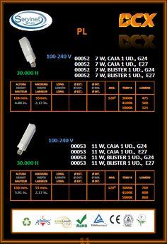 PL  G24 y E27  00052 - 00053