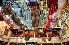 colorful cloth ceiling - Google 検索