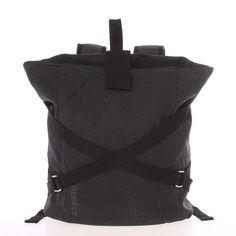 Unisex moderný látkový čierny batoh - New Rebels Kinley Bradley Mountain, Rebel, Fashion Backpack, Calvin Klein, Backpacks, Unisex, Trendy, Bags, Products