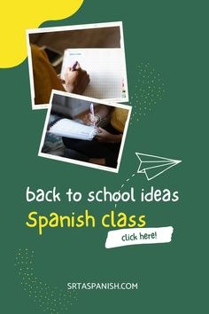 Are you looking for Back to School Activities for your Spanish class? Are you wondering what to do the 1st week of school in your Spanish classroom? Check out these awesome ideas for getting to know you activities, lesson plans for the first day of school, and a unit plan to start your Spanish curriculum off on the right foot! Your middle school and high school Spanish students will love these icebreaker activities and more! Click to read the post! Get To Know You Activities, Back To School Activities, Class Activities, Spanish Classroom, Teaching Spanish, Icebreaker Activities, Middle School Spanish, Spanish Lesson Plans, Spanish 1