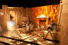 Cardboard set - Lounge by mark_obrien, via Flickr