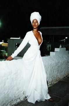 ♡African Chic Wedding Dress