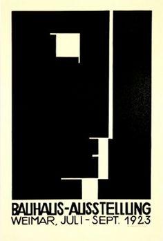 Bauhaus poster, 1923                                                                                                                                                                                 Más