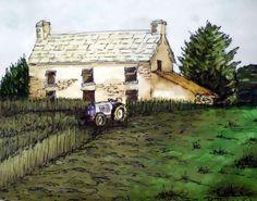 Hay Day Irish Farm Print by PetrocyStudios on Etsy, $5.00