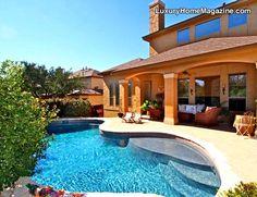 Luxury Home Magazine San Antonio #Luxury #Homes #Backyards #Pools
