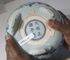 Incense Burner with Lotuses Turning Japanese, Chinese Ceramics, Incense Burner, Chinese Art, Asian Art, White Ceramics, Lotus, Indigo, Porcelain