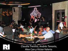 Claudia Treviño, Andrés Tenorio,