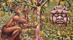 Lịch sử hình thành socola ngày nay mà bạn luôn yêu thích History Of Chocolate, Aztec, Garden Sculpture, Buddha, Mexico, Statue, Outdoor Decor, Painting, Google Search