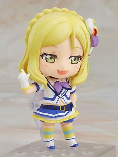 "Crunchyroll - ""Love Live! Sunshine!!"" School Idol Mari Ohara Gets Nendoroid In Time For Today's Birthday"