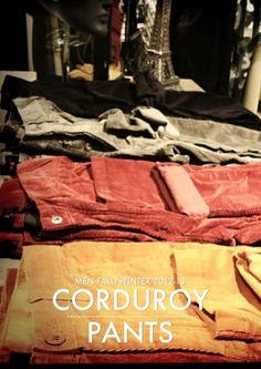 JASPAL Corduroy Pants (Men Fall/Winter 2012-13)