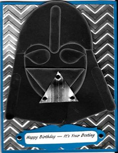 Star Wars-Darth Vader Birthday Card Made By Patty Vanatta Klundt