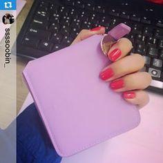 #JSSpotted OZ Round Zip Wallet in blossom violet! #조셉앤스테이시 Instagram photos | Websta (Webstagram)