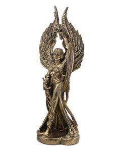 Deusa Morrigan (ouro velho)