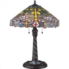 Jonas Tiffany Table Lamp : H17G | Bright Light Design Center