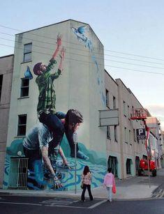 Risultati immagini per street art magic the 20 best street art