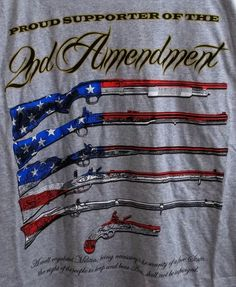 988bee1b Proud Supporter Of The 2nd Amendment T-Shirt Adult XL X-Large #Delta  #BasicTee