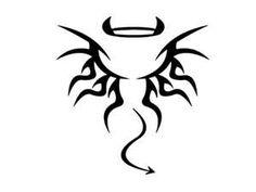 Angel  Devil Tattoo Ideas