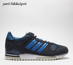 best sneakers 61eda 772ed Adidas Originals para Mujer ZX700 Imprimir Zapatillas en la Leyenda de la  Tinta y del Bluebird Baratas Barcelona