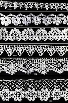 Crocheted Edging Tutorial╭⊰✿Teresa Restegui http://www.pinterest.com/teretegui/✿⊱╮