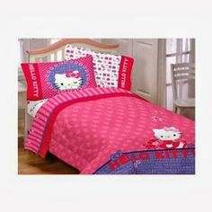 Christmas is around the corner and Decorating your Kids' Bedrooms  is always so much fun and and here on this site you are going to find a  huge collection of Hello Kitty Bedroom Ideas for Kids, teens, and toddlers or for the Nursery.