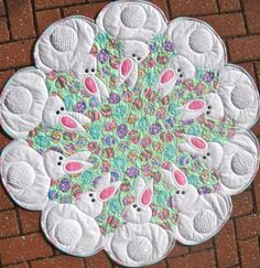 Bunnies All Around Love this pattern