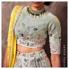 Planning to do your wedding shopping this month? Then you need to make note of these Designer Bridal Sale that are happening both online and in store. Lehenga Choli, Sabyasachi, Lehenga Skirt, Baby Lehenga, Sarees, Indian Wedding Outfits, Indian Outfits, Embroidery Suits Design, Bridal Blouse Designs