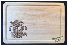 Bread board using an image from Claritystamp...