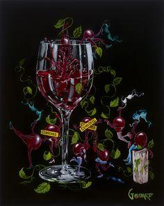 Grapes Gone Wild - Michael Godard  For all my Grapevine Girls!!